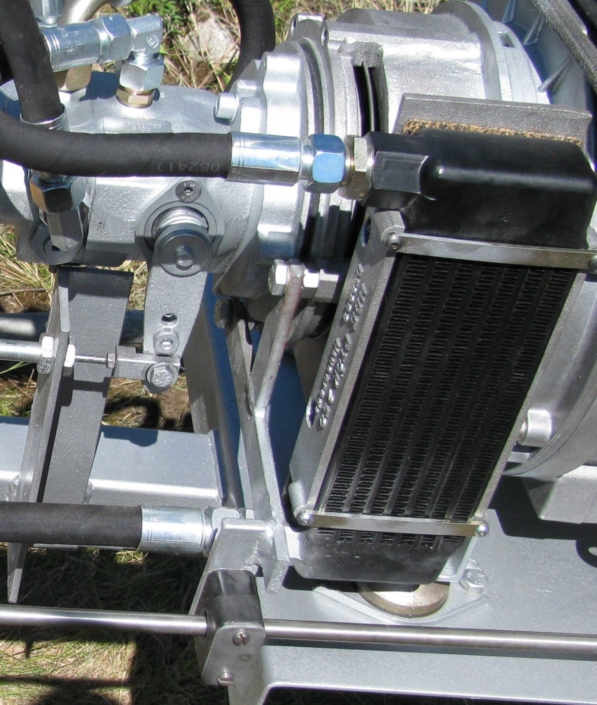 refrigerador aceite hidráulico