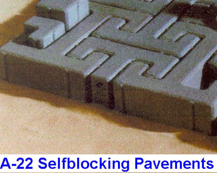 Selfblocking Pavements A-22